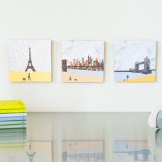CityTiles (Paris, New York, London) - StoryTiles