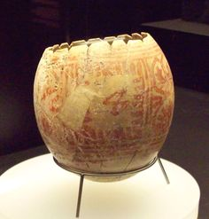 Punic ostrich egg from Villaricos (M.A.N. 1935-4-VILL-T.609-7) 01 - Egg decorating - Wikipedia, the free encyclopedia