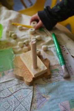 A creative building project for Three and Four Year Olds