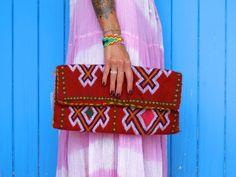 Handmade Berber Clutch by Hejad on Etsy