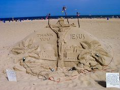 Famous Sand Sculptures in Ocean City Maryland | Ocean City MD