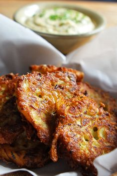 Summer Squash Fritters With Garlic Dipping Sauce Recipe - NYT Cooking