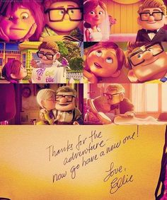 Up movie ♥ I cry during this part every time.
