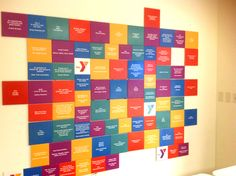 YMCA Donor Recognition Walls, Community Engagement, Fundraising ...