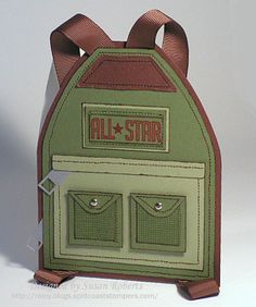 backpack with measurements