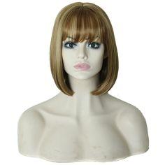 $9.31 (Buy here: https://alitems.com/g/1e8d114494ebda23ff8b16525dc3e8/?i=5&ulp=https%3A%2F%2Fwww.aliexpress.com%2Fitem%2FSoft-Natural-Medium-Straight-Bob-Hair-Full-Lace-Wigs-Lace-front-wig%2F32766772278.html ) 2016 Cabello humano Hair wigs Soft Natural Medium Straight Bob Hair Full Lace Wigs Lace front wig Brazilian Pelucas pelo natural for just $9.31