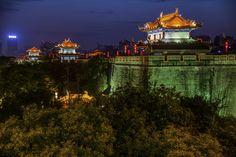 Xian by night