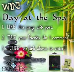 Free Giveaway: Day at the Spa WaxTarts w/Jewelry (U.S. Mainland Only)   Enter Here: http://www.giveawaytab.com/mob.php?pageid=165816336954813