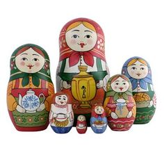 "Traditional Matryoshka ""Welcome""    FromRussia.com"