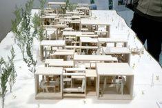 卒業 模型 - Recherche Google Organic Architecture, Chinese Architecture, Futuristic Architecture, Beautiful Architecture, Architecture Details, Landscape Architecture, Interior Architecture, Greece Architecture, Architecture Student