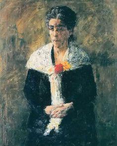 james ensor, portrait of the artists mother Different Media, Famous Artists, Mothers, Mona Lisa, Portrait, Artwork, Painting, Work Of Art, Headshot Photography