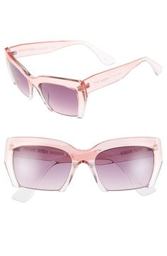 9bed4c5383a Steve Madden 55mm Semi Rimless Sunglasses available at  Nordstrom Latest  Sunglasses