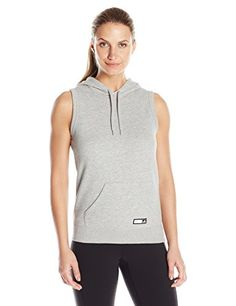 Women's Athletic Hoodies - adidas Performance Womens Adigirl Sleeveless Hoody -- To view further for this item, visit the image link. (This is an Amazon affiliate link)