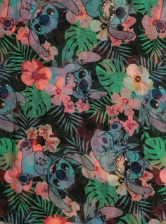 Disney Lilo & Stitch Hibiscus Infinity Scarf | Hot Topic | $11.60