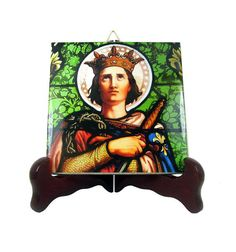 Today is the feast of Saint Louis of France. A wonderful collectible icon on ceramic tile is available in my Etsy Store: >>> https://www.etsy.com/listing/399596373 <<<  100% handmade in Italy by @TerryTiles2014  #faith #stoftheday #stlouis #saintlouis #france #patronsaint #saints #catholic #catholicchurch #saintoftheday #devotion #prayforus #pray #etsyfinds
