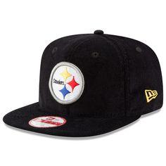 43ac0d2c6f5 Men s New Era Black Pittsburgh Steelers Vintage Corduroy Original Fit 9FIFTY  Snapback Adjustable Hat · Pittsburgh Steelers HatsNfl ...