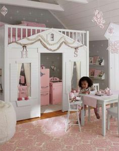 Prefect princess playroom/bedroom