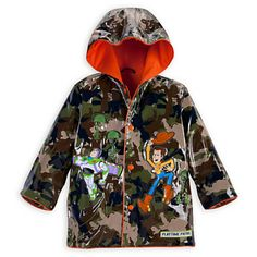 Toy Story Rain Jacket for Boys