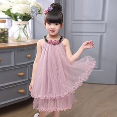 Myangel Gowns For Girls, Dresses Kids Girl, Kids Outfits Girls, Toddler Girl Outfits, Little Girl Dresses, Flower Girl Dresses, Baby Girl Fashion, Kids Fashion, Baby Frocks Designs