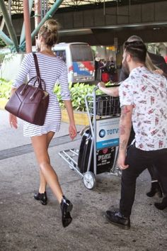 Airport Style, Love the shoes