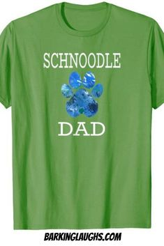 b2a44bb3f Dog Shirt comes in sizes s-3xl and 5 different colors. Schnoodle shirt for
