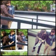 Fetus Larry Stylinson behind cameras