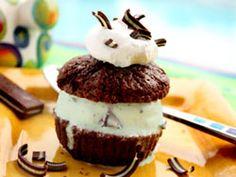 Ice Cream Cupcakes #Dessert #Recipe