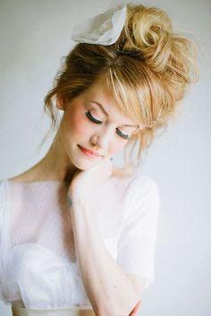 Idee acconciature alte per la sposa - Hairstyle romantico