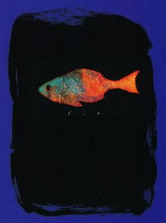 liquidnight:    Endpaper from The Day I Swapped My Dad for Two Goldfish by Neil Gaiman and  Dave McKean