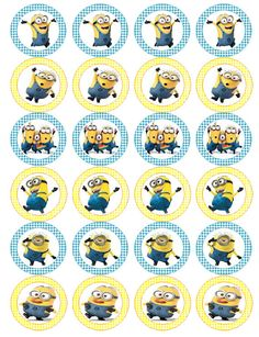 Minion Despicable me inspired idea for kids by etsyPartyPrintables