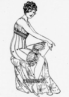 Sweet Young Women in Stylish Corset from Lynden Tribune March 18, 1920 http://chroniclingamerica.loc.gov/lccn/sn88085445/1920-03-18/ed-1/seq-12/
