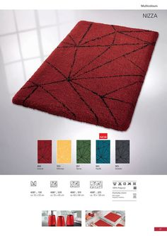 Elegant design and Polyacrylic, pile height. Bath Rugs, Elegant, Design, Home Decor, Classy, Decoration Home, Room Decor, Home Interior Design