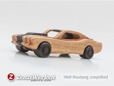 1969 Mustang simplified cnc/laser by ZenziWerken - Thingiverse