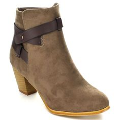 Miim Women's 'Tory-03' Buckle Strap Ankle Booties - Overstock™ Shopping - Big Discounts on Booties