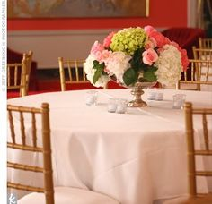Chelsea Gets Married: Centerpieces