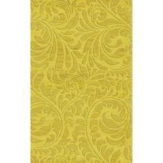 Dalyn Rug Co. Bella Yellow Area Rug Rug Size: 4' x 6'