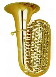 53 valve tuba -- man would I love to hear this thing played! Trombone, Saxophone, Cello, Sousaphone, Homemade Instruments, Band Nerd, French Horn, Brass Band, Trumpets