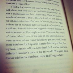 The Fault in Our Stars by John Green | TFIOS | #quote