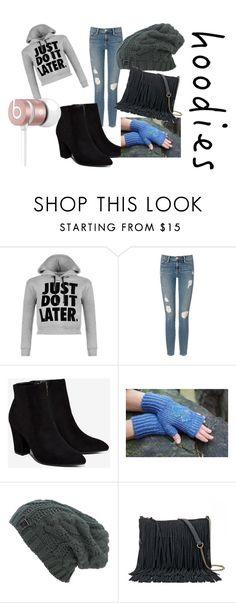 """""""Hoodies"""" by sparklingpearl619 on Polyvore featuring WearAll, Frame Denim, Billini, SONOMA Goods for Life, Beats by Dr. Dre and Hoodies"""