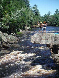 Hell's Gate in Banning State Park on the Kettle River. Guided whitewater river tours on the Kettle River near Sandstone MN. #mnrafting #hellsgate #mnfun