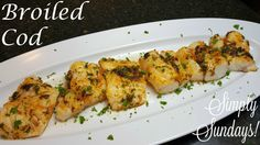 Broiled Pollock Fish Recipes