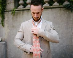 Augustus Hare | Autumn Interviews vol. I : Chris Gaul  #menswear #ties #gifts #christmas #christmasgifts #christmasgiftsforhim #giftsforhim #giftsformen #woventies #augustushare #orangeties