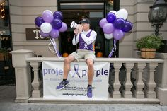 Photography by Prestige Barkley Photographic design. #lindseymevents #nycmarathon #nyceventplanner #projectpurple