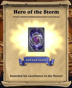 Hearthstone: Heroes of the Storm Card Back – Book of Jen