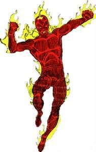 human torch marvel comics