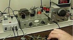 Ameco AC-1 CW QRP Transmitter and Homebrew Receiver : Vintage Ham Radio
