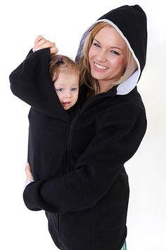 Černá mikina na nošení dětí Hoodies, Sweaters, Dresses, Fashion, Moda, Sweatshirts, Vestidos, Fashion Styles, Sweater