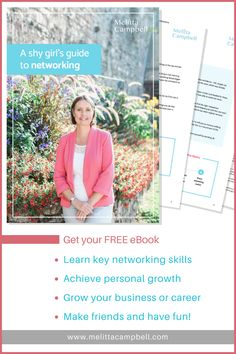Networking is the most powerful business building tool out there.  But, as a 'shy girl', for years I struggled with networking – even just stepping into a room was a challenge! – yet now it's an important part of my work as an entrepreneur and home business success coach!  It took a lot of time, research and deep breaths to turn around my feelings about networking, but I got there – and so can you!  Ready to grow from wall-flower to networking ninja?
