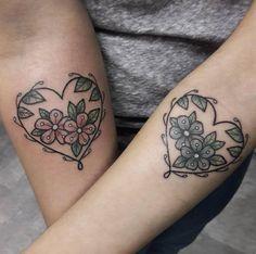 Botanical hearts by Jesi Garcia