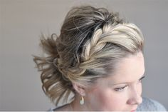 From our friend Kate at the Small Things Blog: See what a difference a simple braid can make to a ponytail. Click on the photo for more.